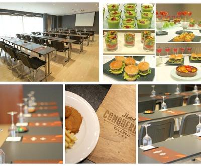Food Finger Conqueridor Hotel