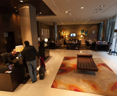 Reception Conqueridor Hotel